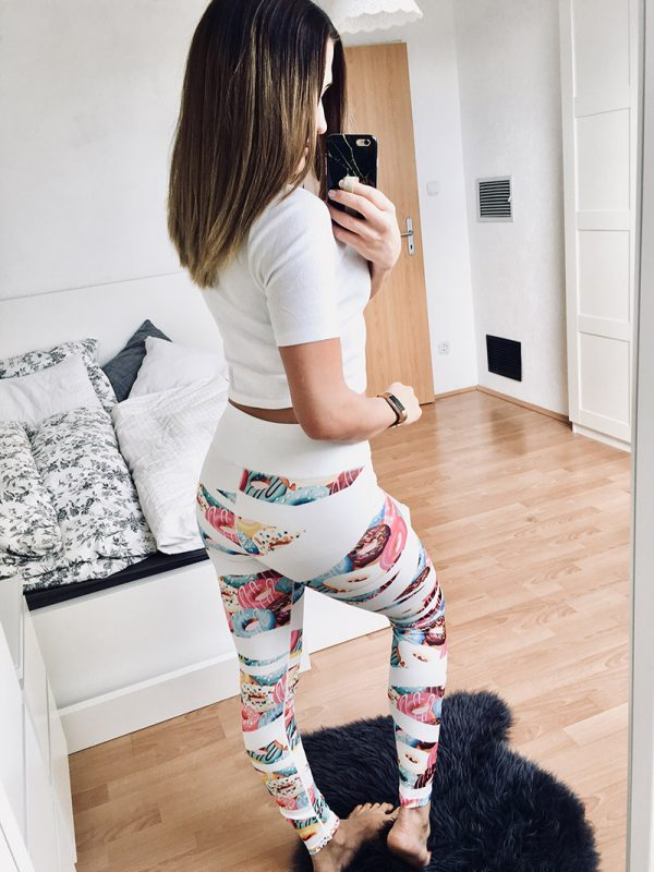 Donuts Sweets bunt Leggings Puppetry