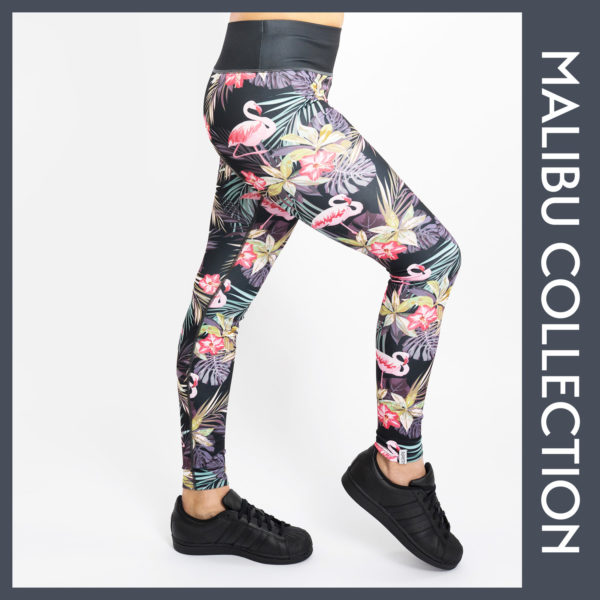 Flamingo Jungle Tights Leggings Puppetry Sportleggings