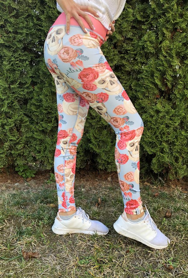 Skulls n Roses Leggings Tights Puppetry Pupperty
