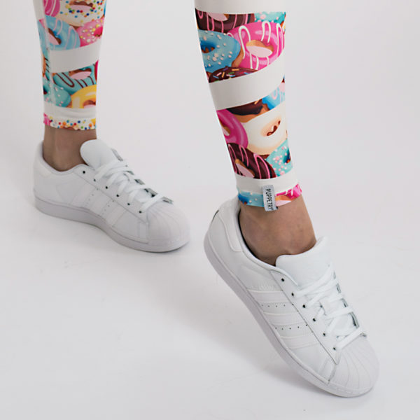 Donuts Leggings Tights Damen