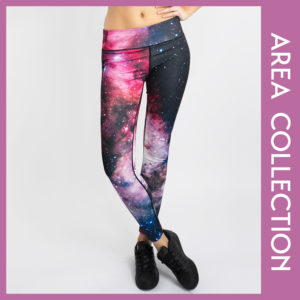 Galaxy Tights Leggings Puppetry Hose Yogahose Gym Wear Outfit of the day
