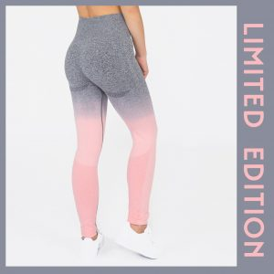 PUPPETRY High Waist Ombre Leggings Tights