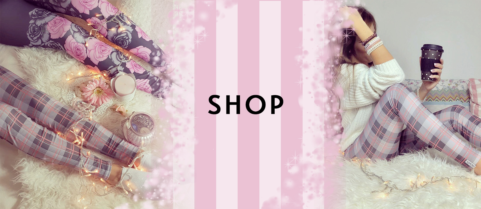 Spring Banner Puppetry Tights Shop