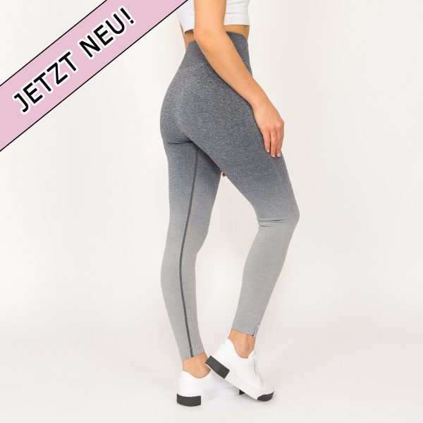 Puppetry High Waist Nahtlose Leggings grau